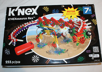 K'Nex K'NEXOSAURUS Rex model - motorised