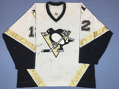 Pittsburgh Penguins Game Worn Used Ryan Malone Rookie Jersey (scored 1st point)