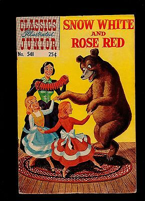 Classics Illustrated Junior #541 Vg   Hrn576 (Snow White And Rose Red)