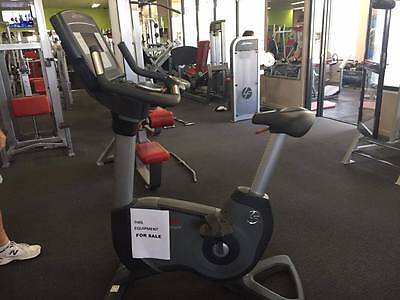 up right bike, life fitness 95C