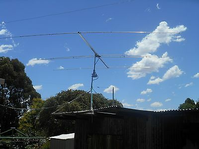 3 Element Wide Spaced Yagi For 10/11 metres