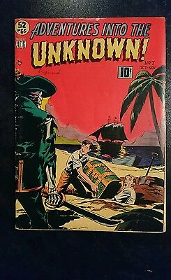 Adventures Into The Unknown #7 (ACG, 1949) Condition: Approx. VG.....