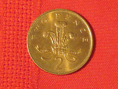 *** 1989  2 Pence coin  (Great Britain)   Very nice example.  KM# 936