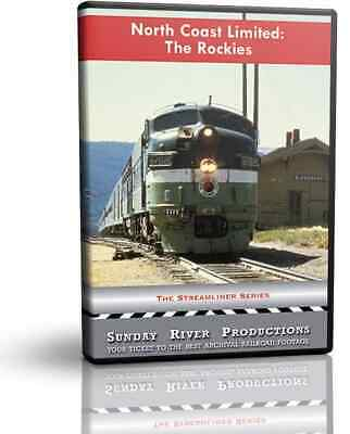 Northern Pacific's North Coast Limited, The Rockies - Sunday River Train DVD ...