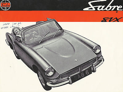 Sabre six Brochure