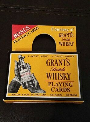 Grants Scotch Whisky Collectable Playing Cards New in Box