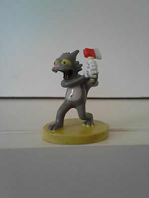 THE SIMPSONS Figurine - SCRATCHY  - 2000