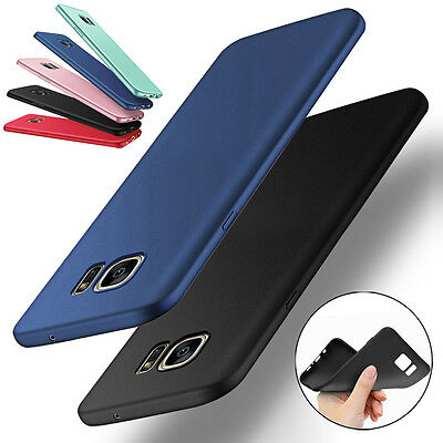 For Samsung Galaxy J5 J7 A3 A5 A7 2016 2017 S6 S7 S8 Slim Silicone Soft TPU Case
