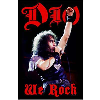 DIO We Rock Textile Poster Flag