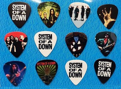 SYSTEM OF THE DOWN  Guitar Picks Set of 12