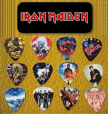 IRON MAIDEN - Guitar Pick Tin includes 12 Guitar Picks *Limited Edition*