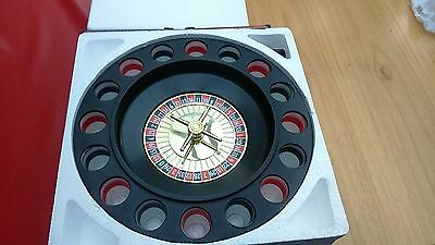 Casino Shot Roulette Game 16 Shot Glasses - Stag Night - Man Cave - Party