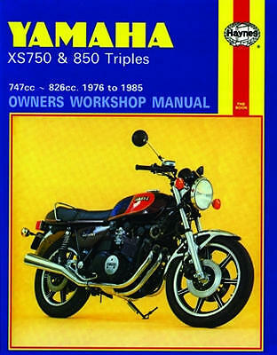 Haynes Workshop Service Repair Manual Yamaha Xs 750 Xs 850 Triples 1976-1985