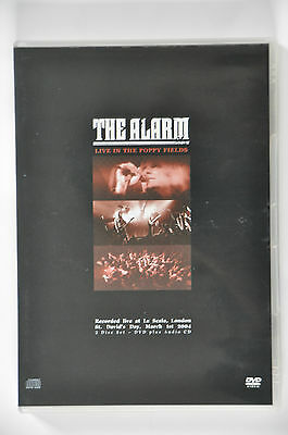 """The Alarm """" Live In The Poppy Fields """"  rare DVD / CD edition"""