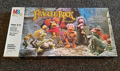 Fraggle Rock Board Game - vintage - Milton Bradley - 1984