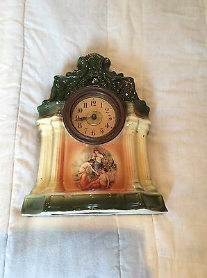 Wind up clock, in full working order.