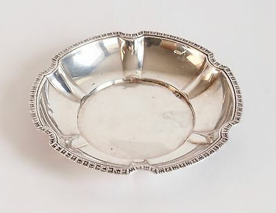 Vintage Silver 830 Plate Dish By TH MARTHINSEN Norway