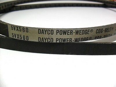 Dayco Power Wedge / Cog Drive Belt 5Vx560  V-Belt   **surplus Stock**