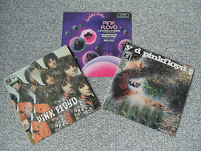 """PINK FLOYD EDITION """"The Piper At The Gates Of Dawn+A Saucerful Of Secrets""""  Rare"""