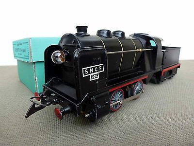 French Hornby O Gauge 20 volt OVA Loco and Tender