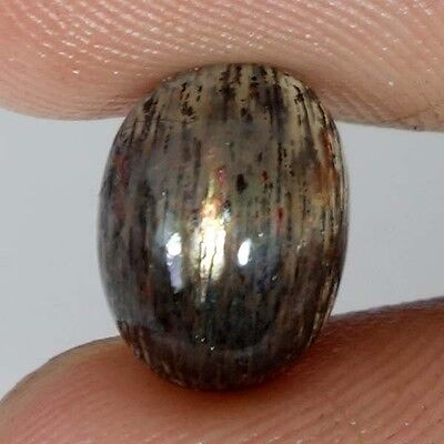 3.40Cts 100% NATURAL CHATOYANT GOLDEN SUNSTONE OVAL CABOCHON LOOSE GEMSTONES