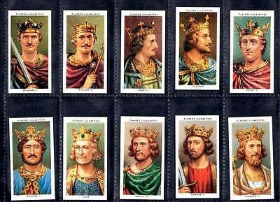 John Player Kings & Queens of England Reproduction cards