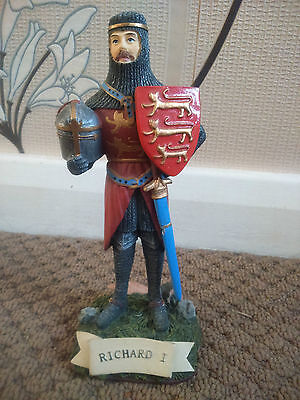 King Richard I Figurine The House of Valentina Collection Lionheart