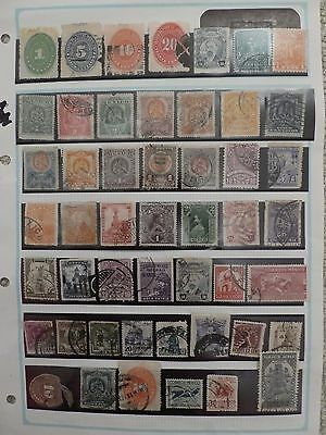 Mexico collection of 49 stamps