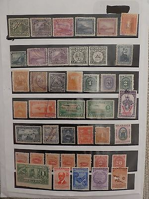 Nicaragua collection of 42 stamps