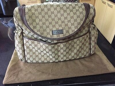 Authentic Gucci Changing Baby Bag