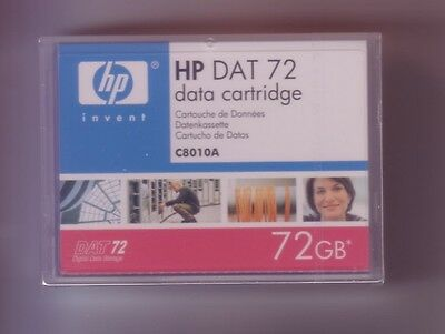 HP DAT72 Data Cartridge 4mm 170m 36-72GB C8010A - New, sealed item