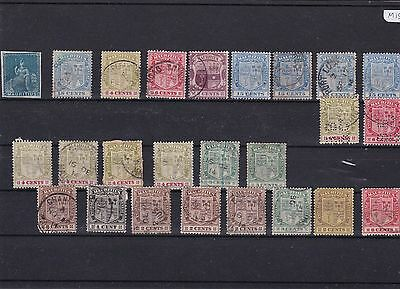 Mauritius Early Mounted Mint And Used Stamps   Ref R1424