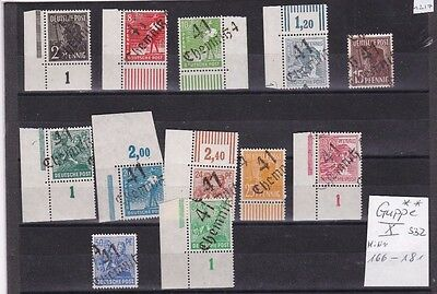 Germany Allied Occupation Post Ww2 Local Handstamp Overprints Mnh   R 1544