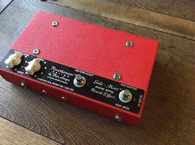 Van Amps Sole Mate Real Spring Reverb Pedal Reverbamate *SALE PRICE*