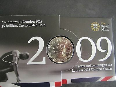 Royal Mint- Countdown London Olympic £5 Coin