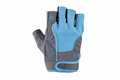 Ladies Gel Gloves Fitness Gym Wear Weight Lifting Workout Training Cycling Blue