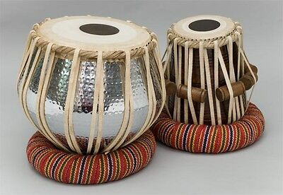 Tabla Set Drum Copper 3.5 Kg Bayan I Ndian Drum~Shesham Wood Dayan Duff Dholak