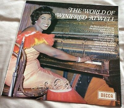 The World Of Winifred Atwell - Vinyl LP - SPA 51.