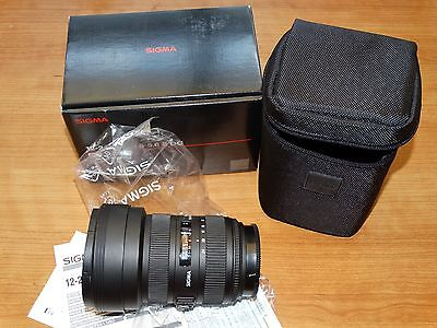 Sigma 12 - 24mm F4.5-5.6 II DG - For Sony A - Demo- New  !!!