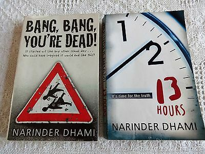 Bang,Bang,You're Dead & 13 Hours Books By Narinder Dhami
