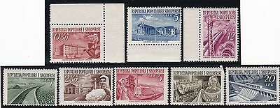 Albania, 1953, M-MH stamps, see scans.