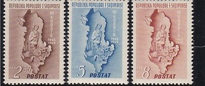 Albania, 1949, MH stamps, see scans.lot 1