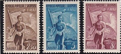 Albania, 1949, MH stamps, see scans.
