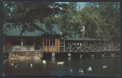 Cobb's Mill Weston Westport Connecticut Restaurant Postcard