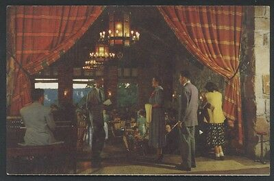 Canyon Grand Dining Lodge National Park Arizona Restaurant Interior Postcard