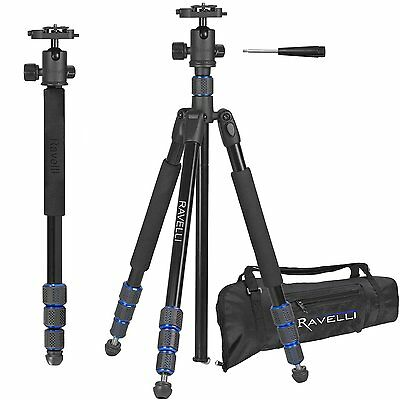 Universal Portable Camera Camcorder Professional Tripod Monopod Fit Nikon Sony