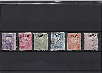 Turkey, 1905. perf. 13.1/4 overprint,mix condition, ckeck scans.