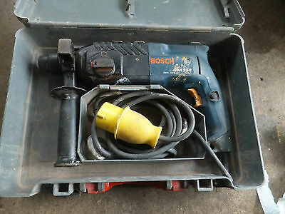 Bosch  Drill SDS 110V GBH2SR  plus carry case