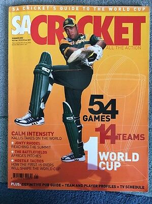 South Africa Cricket World Cup Magazine Multi Signed By South Africa Cricketers