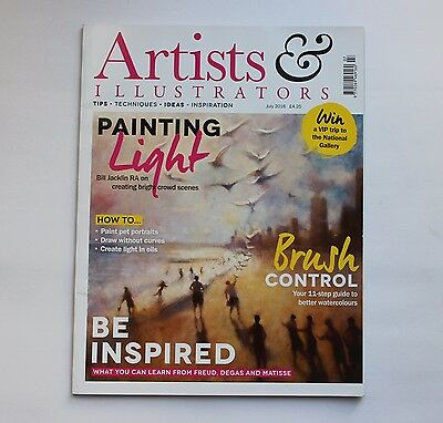 Artists and Illustrators magazine July 2016 Issue 366